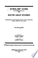 Scholars' Guide to Washington, D.C., for South Asian Studies
