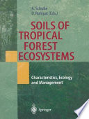 Soils Of Tropical Forest Ecosystems Book PDF