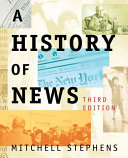 Cover of A History of News