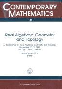 Real Algebraic Geometry and Topology [Pdf/ePub] eBook