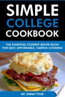 Simple College Cookbook
