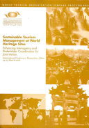 Sustainable Tourism Management at World Heritage Sites Book