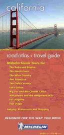 Michelin California Atlas   Travel Guide
