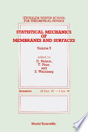 Statistical Mechanics Of Membranes And Surfaces   Proceedings Of The 5th Jerusalem Winter School For Theoretical Physics