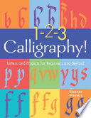 1 2 3 Calligraphy