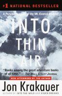 Into Thin Air Pdf/ePub eBook