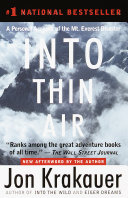 Into Thin Air ebook