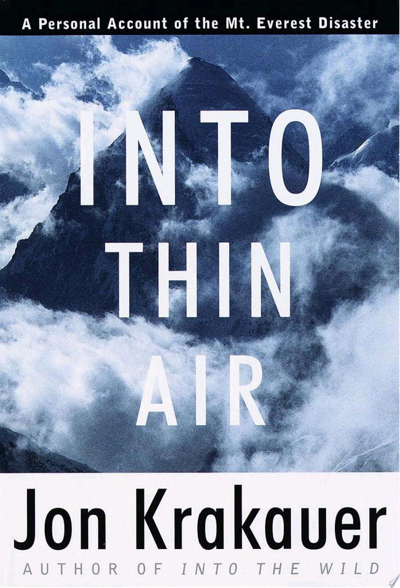Into Thin Air image