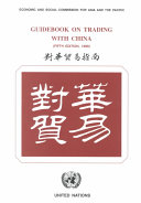 Guidebook on Trading with China Book