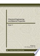Chemical Engineering and Material Properties Book