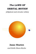 The Laws of Orbital Motion