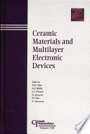 Ceramic Materials And Multilayer Electronic Devices Book PDF