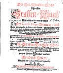 Des Heil. Römischen Reichs uhralter Graffen-Saal, auf welchem die vortrefflichsten von Käysers Caroli Magni Zeiten an, auch theils schon vorher in Ober- und Nieder-Teutschland florirte, aber in den jüngst-verflossenen Seculis abgestorbene Gräffliche Geschlechter, nach deren ... Ursprünge, Stamm-Reihe ... gezeiget, etc
