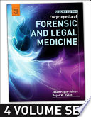 """""""Encyclopedia of Forensic and Legal Medicine"""" by Roger Byard, Jason Payne-James"""
