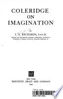 Coleridge on Imagination
