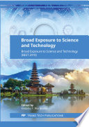 Broad Exposure To Science And Technology Book PDF