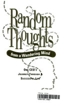 Random Thoughts from a Wandering Mind