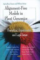 Alignment Free Models in Plant Genomics Book