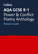 AQA Poetry Anthology Power and Conflict Revision Guide  For the 2020 Autumn   2021 Summer Exams  Collins GCSE Grade 9 1 Revision