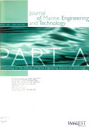 Proceedings Of The Institute Of Marine Engineering Science And Technology Book PDF