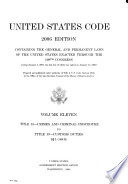 United States Code  : Containing the General and Permanent Laws of the United States Enacted Through the 109th Congress (ending January 3, 2007, the Last Law of which was Signed on January 15, 2007)