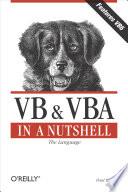 VB   VBA in a Nutshell  The Language