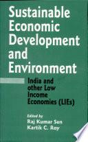 Sustainable Economic Development and Environment Book