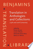 Translation in Anthologies and Collections (19th and 20th Centuries)