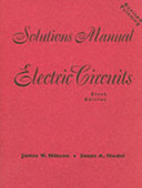 Electric Circuits Solutions Manual