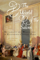 Pdf The World of the Salons Telecharger