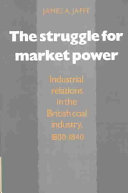The Struggle for Market Power