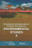 Development And Application Of Computer Techniques To Environmental Studies X Book PDF