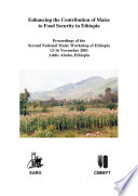 Enhancing the Contribution of Maize to Food Security in Ethiopia