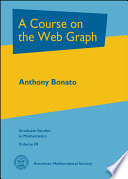 A Course on the Web Graph