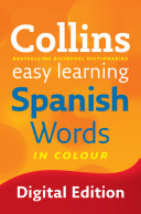 Easy Learning Spanish Words  Collins Easy Learning Spanish
