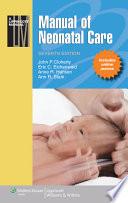 """Manual of Neonatal Care"" by John P. Cloherty, Eric C. Eichenwald, Anne R. Hansen, Ann R. Stark"