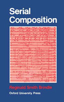 Serial Composition Book