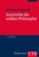 Geschichte der antiken Philosophie