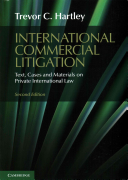Cover of International Commercial Litigation