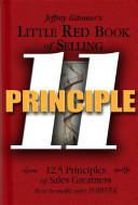Little Red Book of Selling Principle 11