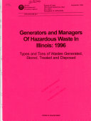 Generators and Managers of Hazardous Waste in Illinois  19
