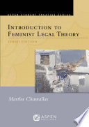 Aspen Treatise For Introduction To Feminist Legal Theory