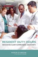 Resident Duty Hours Pdf/ePub eBook