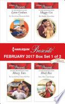 Harlequin Presents February 2017 Box Set 1 Of 2