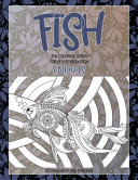 Zen Coloring Books for Adults Relaxation Set Mandalas and Patterns   Animals   Fish