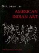 Studies in American Indian Art
