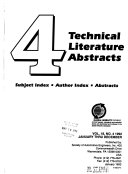 Technical Literature Abstracts Book PDF