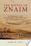The Battle Of Znaim Book