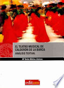 El teatro musical de Calderón de la Barca