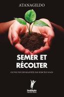 Pdf Semer et Récolter Telecharger